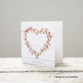 With Love Greetings Card